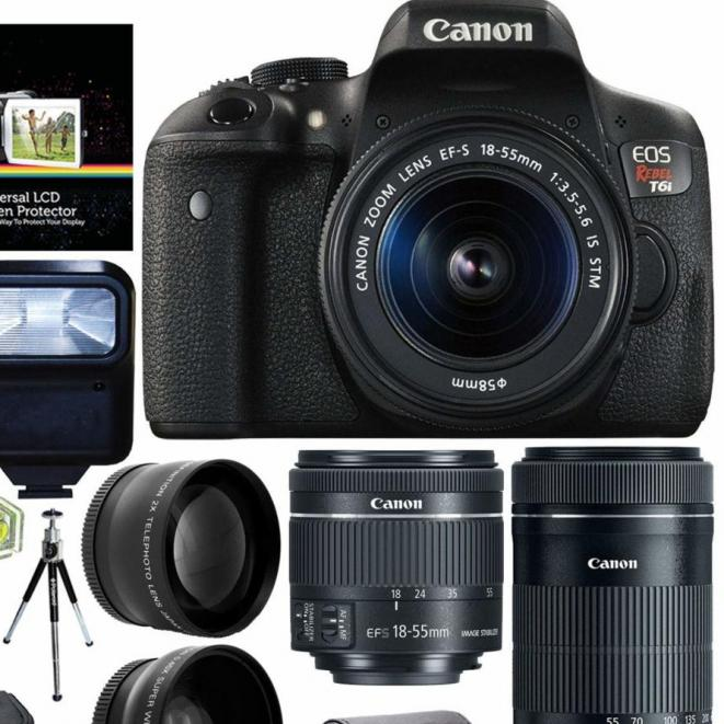 Canon Rebel T6i Kit